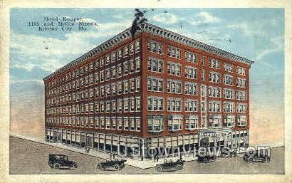 Hotel Kupper - Kansas City, Missouri MO Postcard