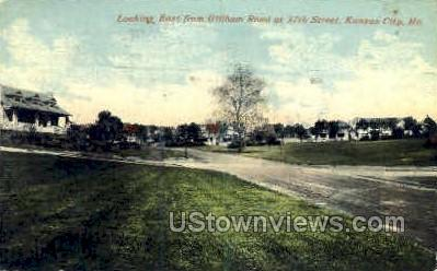 Gillham Rd. - Kansas City, Missouri MO Postcard