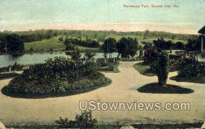 Fairmount Park - Kansas City, Missouri MO Postcard