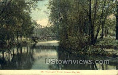 Mt. Washington Brook - Kansas City, Missouri MO Postcard