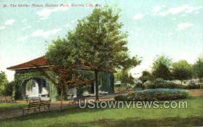 The Shelter House, Holmes Park - Kansas City, Missouri MO Postcard