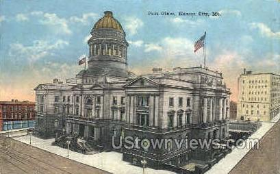 Post office - Kansas City, Missouri MO Postcard