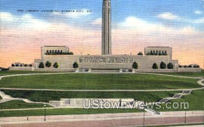 The Liberty Memorial - Kansas City, Missouri MO Postcard