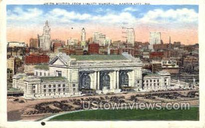 Union Station - Kansas City, Missouri MO Postcard