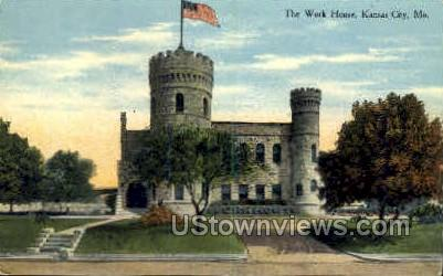 The Work House - Kansas City, Missouri MO Postcard