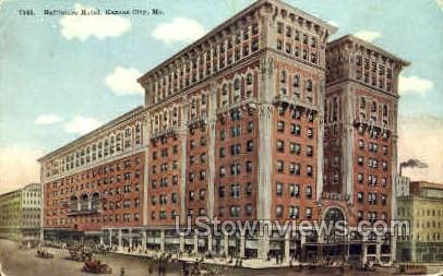 Baltimore Hotel - Kansas City, Missouri MO Postcard
