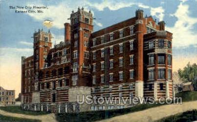 The New City Hospital - Kansas City, Missouri MO Postcard