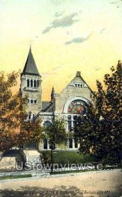 Baptist Church - Kansas City, Missouri MO Postcard