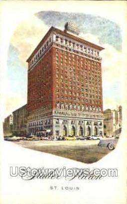 The Statler Hilton - St. Louis, Missouri MO Postcard