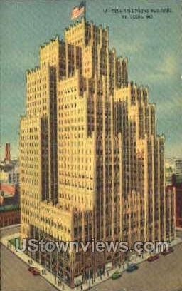 Bell Telephone Bldg - St. Louis, Missouri MO Postcard