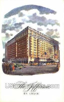 The Jefferson - St. Louis, Missouri MO Postcard
