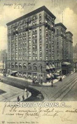 Planters Hotel - St. Louis, Missouri MO Postcard