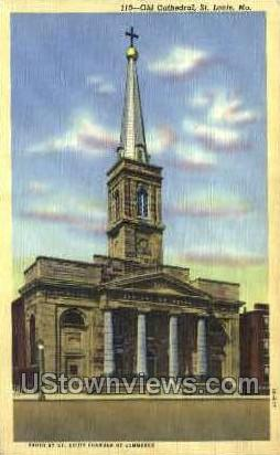 Old Cathedral - St. Louis, Missouri MO Postcard