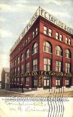 Great Fur District - St. Louis, Missouri MO Postcard