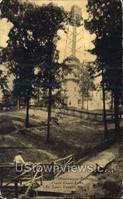 Observation Towers - St. Louis, Missouri MO Postcard