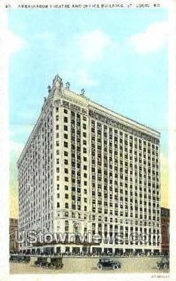 Ambassador Theatre - St. Louis, Missouri MO Postcard