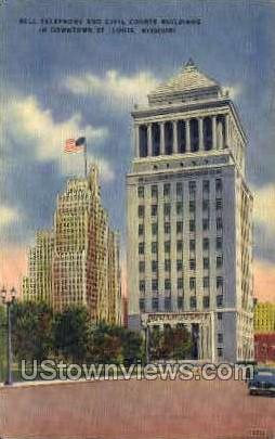 Bell Telephone - St. Louis, Missouri MO Postcard