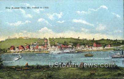 1855 - Kansas City, Missouri MO Postcard