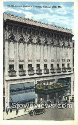 2,000,000.00 Newman Theatre - Kansas City, Missouri MO Postcard