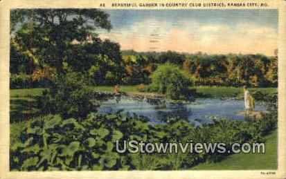 Country Club District - Kansas City, Missouri MO Postcard