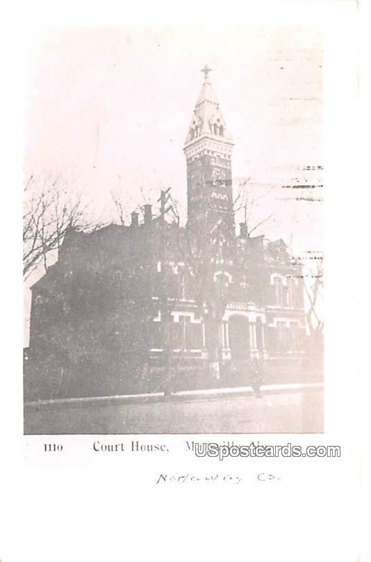Court House - Maryville, Missouri MO Postcard