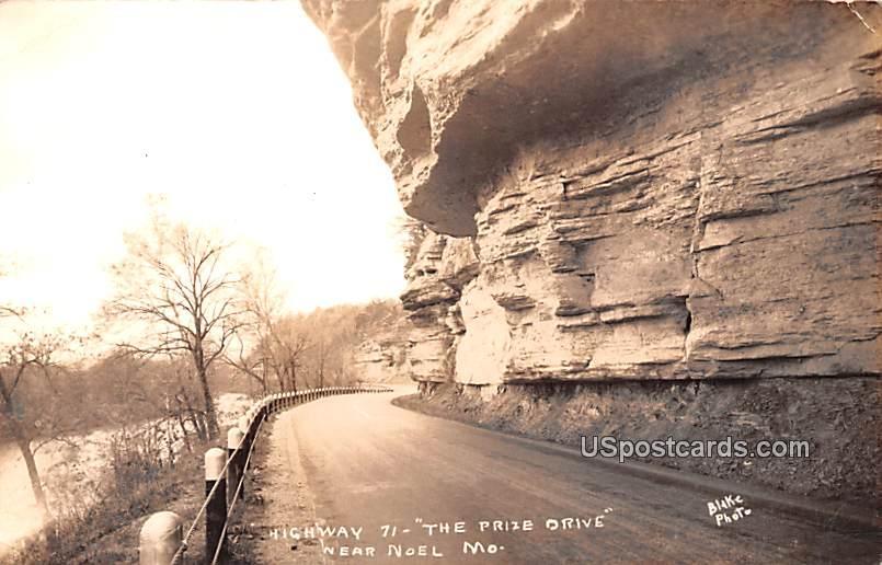 Highway 71 - Noel, Missouri MO Postcard