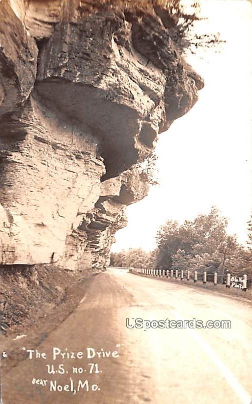 Prize Drive of the Ozarks - Noel, Missouri MO Postcard