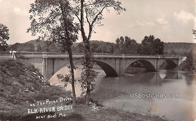 Prize Drive - Noel, Missouri MO Postcard