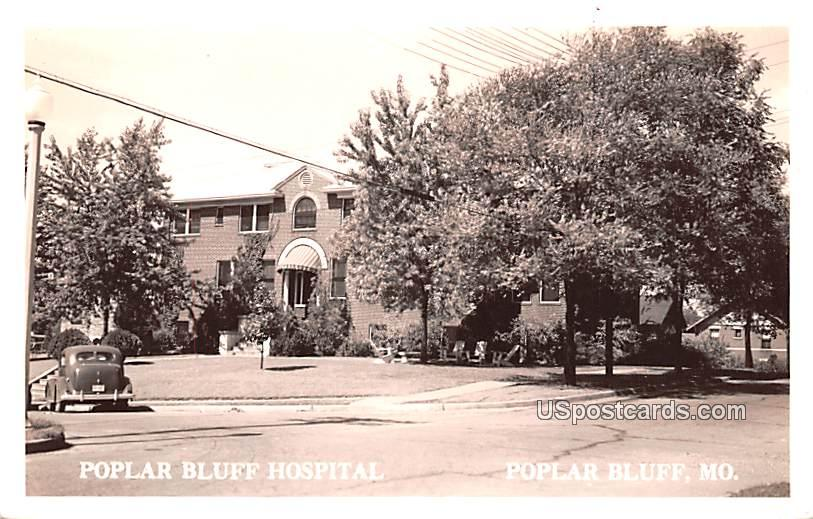 Poplar Bluff Hospital - Missouri MO Postcard