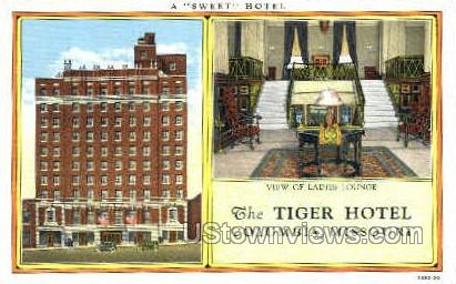 The Tiger Hotel - Columbia, Missouri MO Postcard