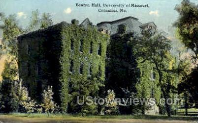U of Missouri - Columbia Postcard