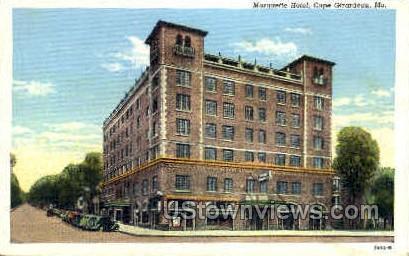 Marquette Hotel - Cape Girardeau, Missouri MO Postcard