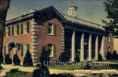 Lupton Chapel - St. Louis, Missouri MO Postcard