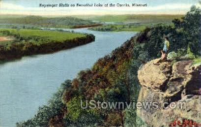 Kaysinger Bluffs - Lake of the Ozarks, Missouri MO Postcard