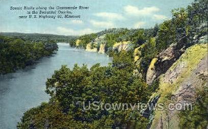 Scenic Bluffs - Lake of the Ozarks, Missouri MO Postcard