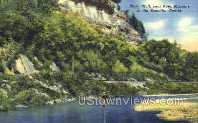 Butler Bluff - Noel, Missouri MO Postcard