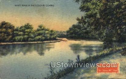 White River - Lake of the Ozarks, Missouri MO Postcard