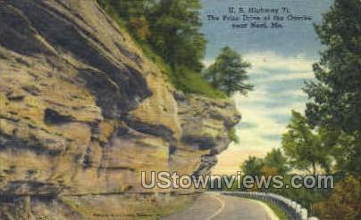 U. S. Highway 71 - Noel, Missouri MO Postcard