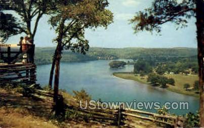 Powersite Museum - Lake of the Ozarks, Missouri MO Postcard