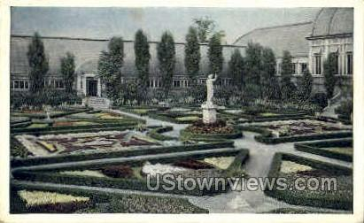 Missouri Botanical Gardens - St. Louis Postcard