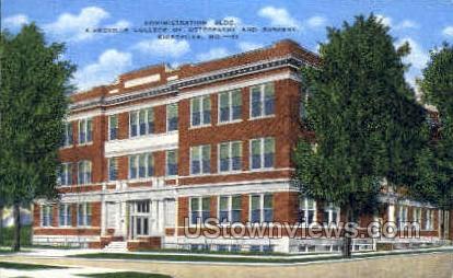 Kirksville College of Osteopathy - Missouri MO Postcard