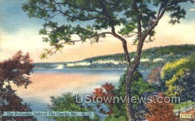The Palisades - Lake of the Ozarks, Missouri MO Postcard