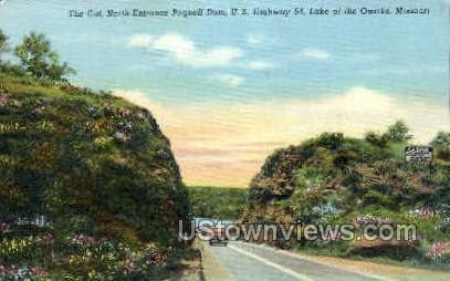 U. S. Highway 54 - Lake of the Ozarks, Missouri MO Postcard
