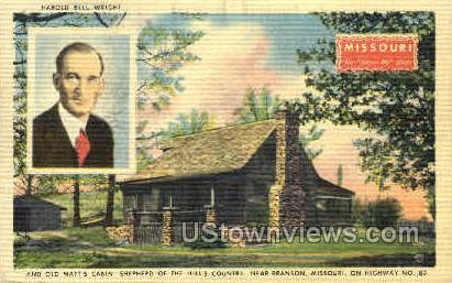 Harold Bell Wright - Branson, Missouri MO Postcard