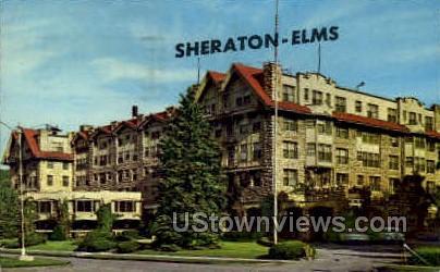 Sheraton-Elms - Excelsior Springs, Missouri MO Postcard