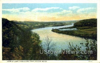 View from the Oak Wood - Branson, Missouri MO Postcard