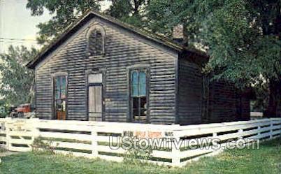 Where Jesse James was Killed - St. Joseph, Missouri MO Postcard