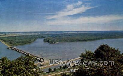 20 Million Dam - Clarksville, Missouri MO Postcard