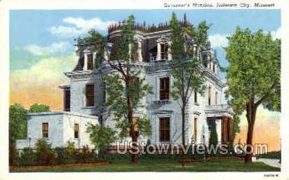 Governer's Mansion - Jefferson City, Missouri MO Postcard