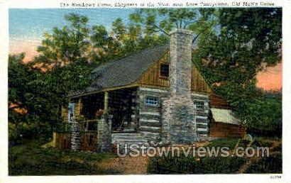 The Matthews Home - Branson, Missouri MO Postcard